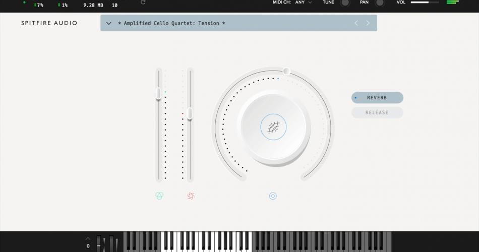 Spitfire Audio Amplified Cello Quarter