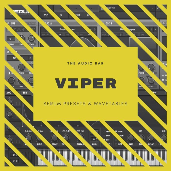 The Audio Bar Viper for Serum