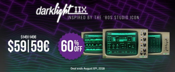 UVI Darklight IIx 60 off sale