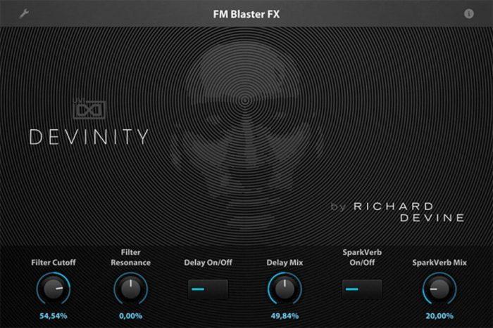 UVI Devinity for Falcon screen