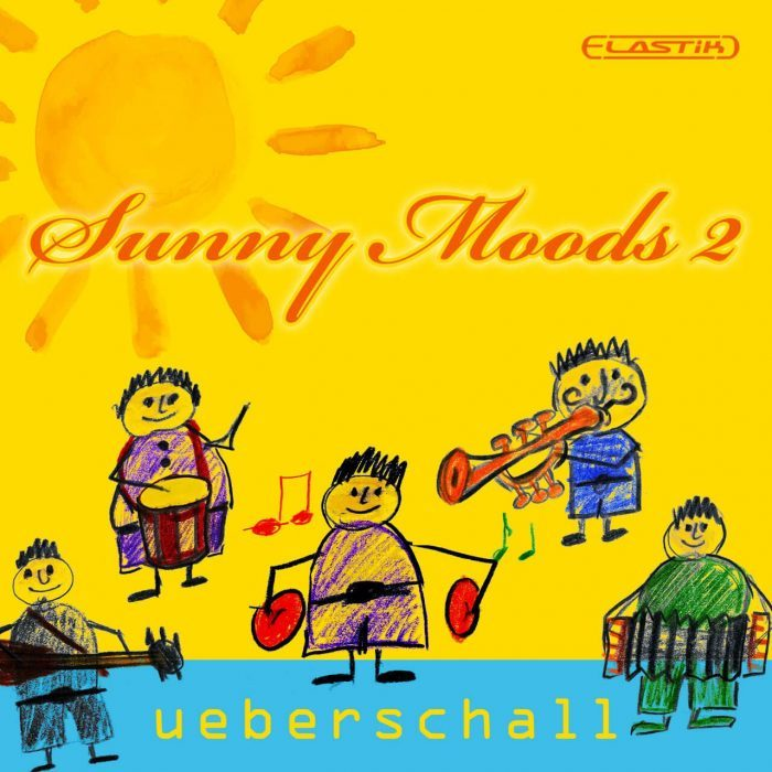 Ueberschall Sunny Moods 2 cover