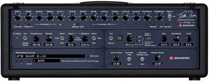 Universal Audio Suhr PT100 amp controls