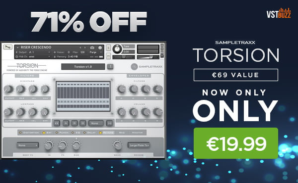 VST Buzz SampleTraxx Torsion Sale