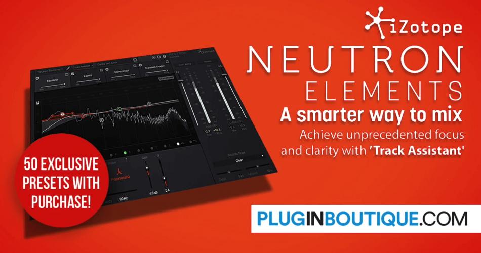 iZotope Neutron Elements 50 presets