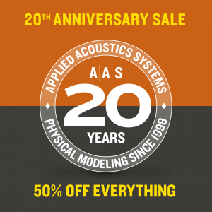 AAS 20th Anniversary Sale ends