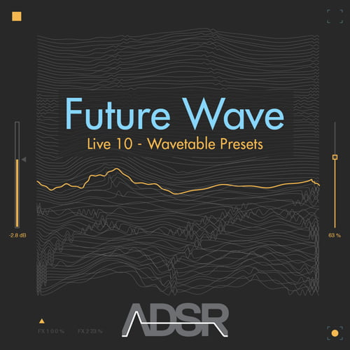 ADSR Sounds Future Wave Live 10 Wavetable Presets
