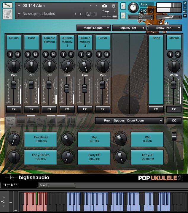 Big Fish Audio Pop Ukulele & Island Sounds 2 interface