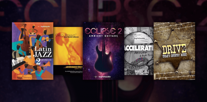 Big Fish Audio Sale Latin Jazz 2, Eclipse 2, Dive