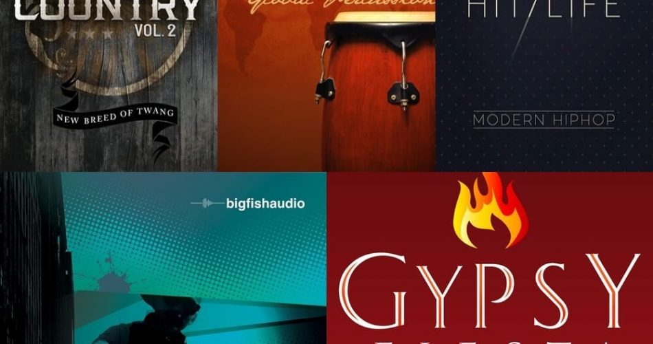 Big Fish Audio Weekly Deals