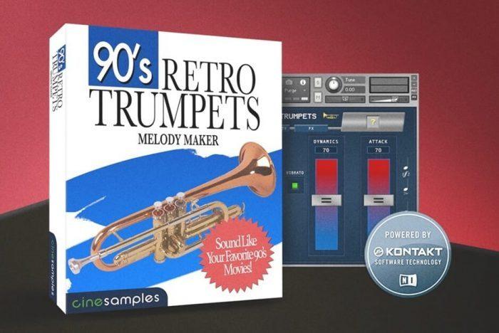 Cinesamples 90s Retro Trumpets