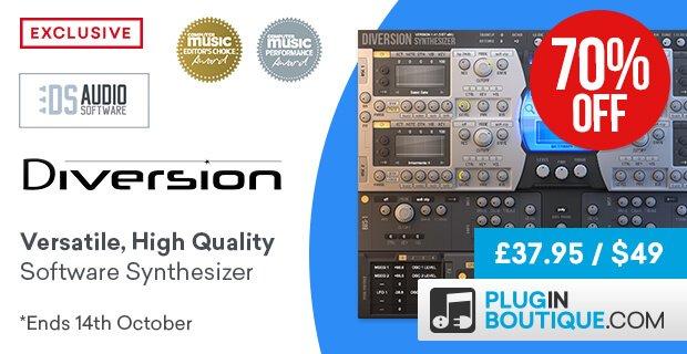 DS Audio Diversion 70 off