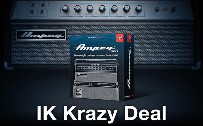 IK Multimedia Krazy Deal Ampeg SVX 2
