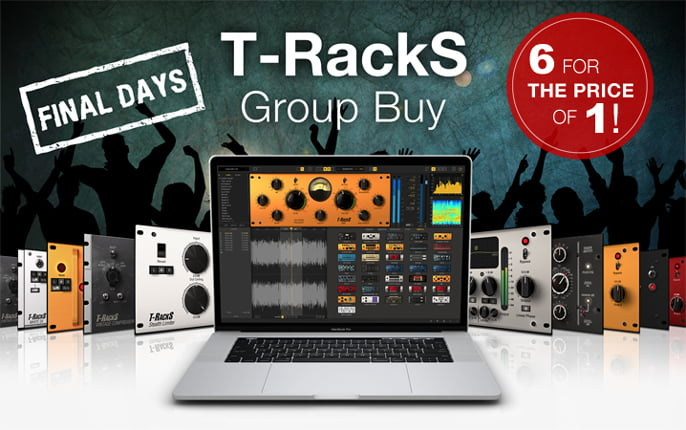 IK Multimedia T RackS Group Buy extended