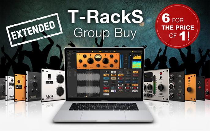 IK Multimedia T RackS Group Buy up to 9 FREE