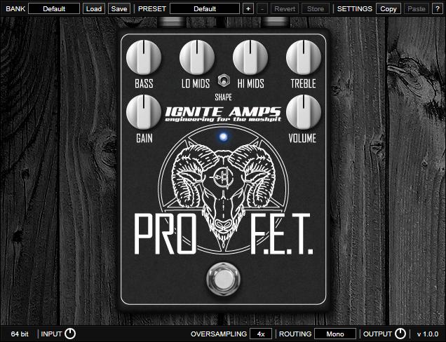 Ignite Amps ProF.E.T.