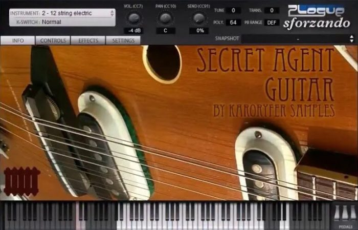 Karoryfer Secret Agent Guitar