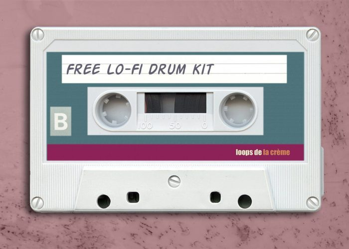 Loops de la Creme Free Lofi Drum Kit