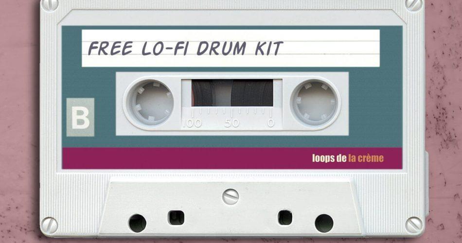 Loops de la Creme Free Lofi Drum Kit