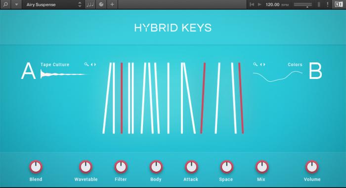 NI Kontakt Hybrid Keys