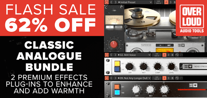 Overloud Classic Analogue Bundle 62 OFF