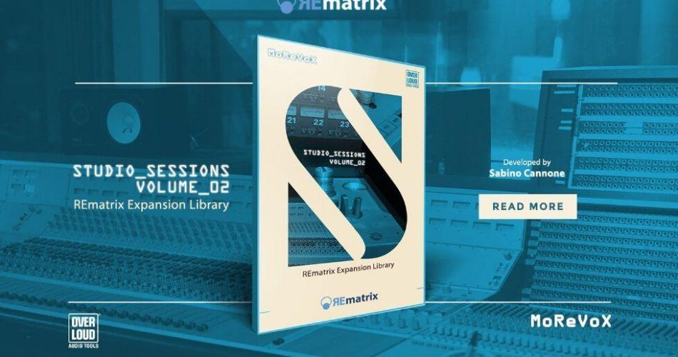 Overloud Studio Sessions II REmatrix Library