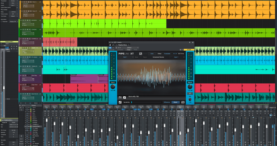 PreSonus Studio One 4.1 with Pipeline Mono