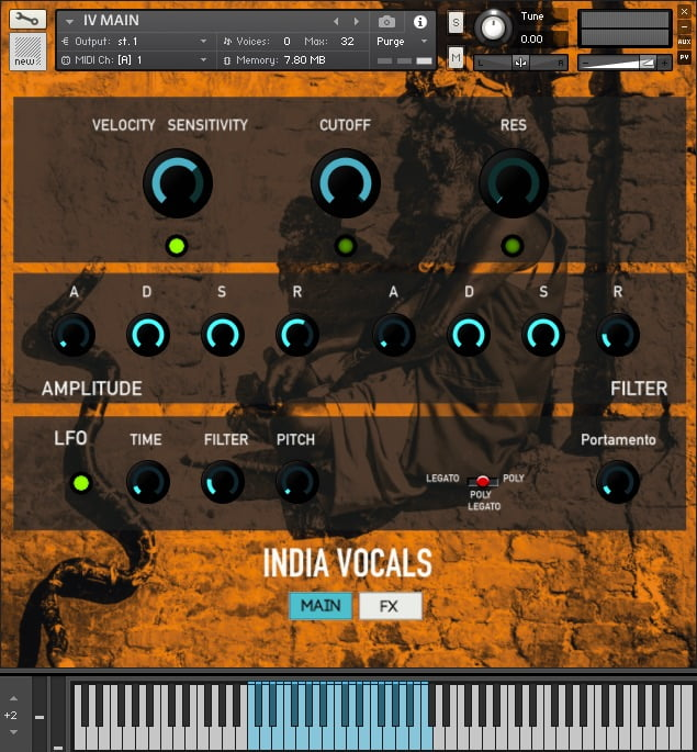 Rast Sound India Vocals Kontakt