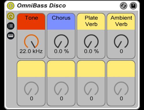 Reverb Machine OmniBass Disco