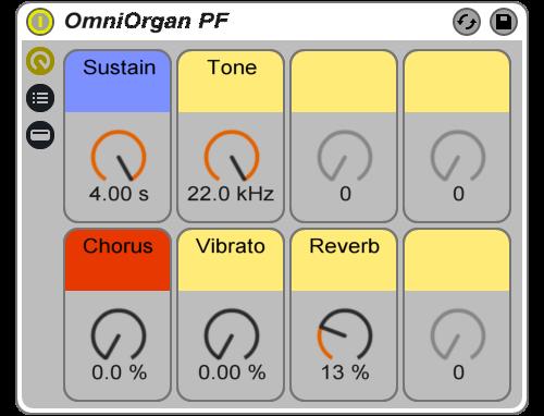 Reverb Machine OmniOrgan PF