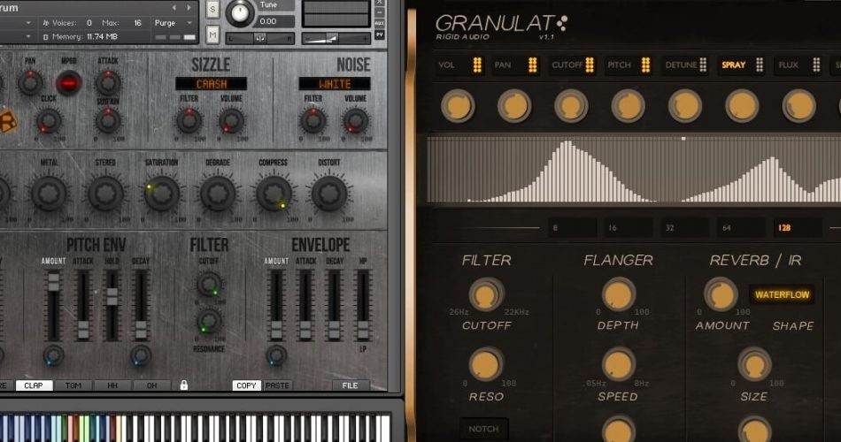 Rigid Audio Granulat & Phreakdrum