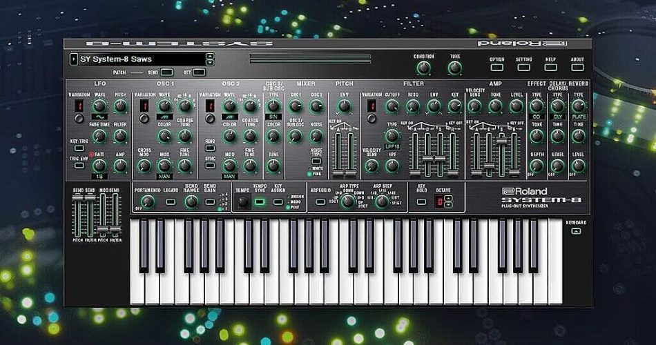 Roland System 8 softsynth summer update