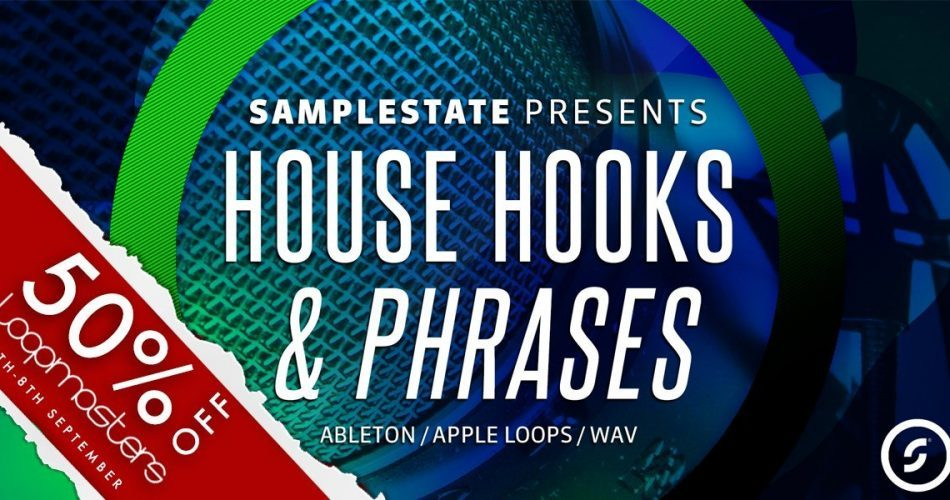 Samplestate House Hooks and Phrases sale