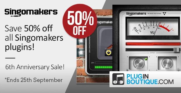 Singomakers 50 off plugins