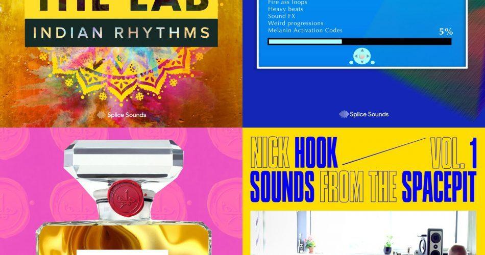 Splice Sounds Dhruv Goel, Nick Hook, MeLo X & TALA