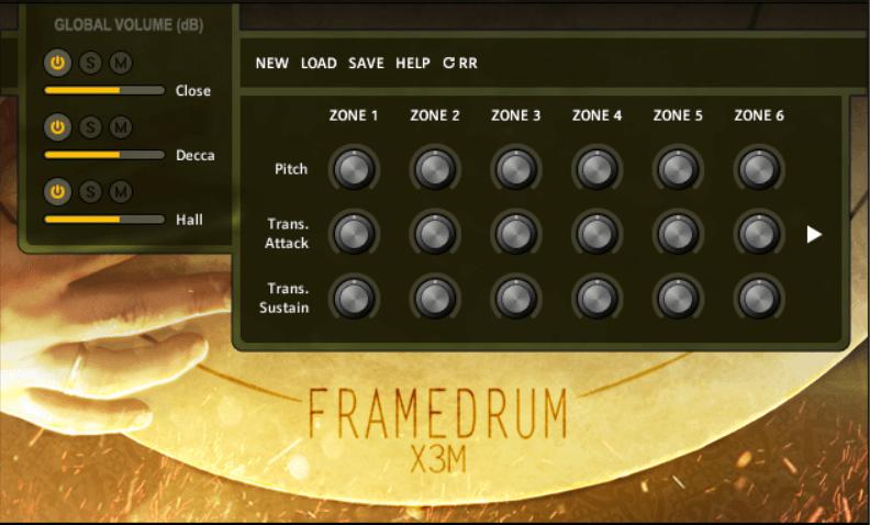Strezov Sampling Framedrum X3M