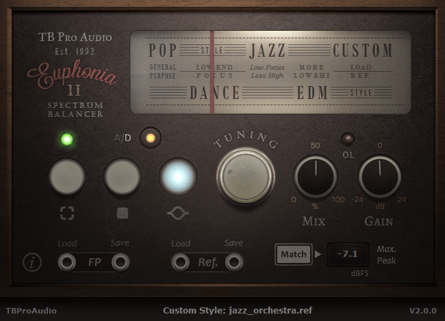 TBProAudio Euphonia 2