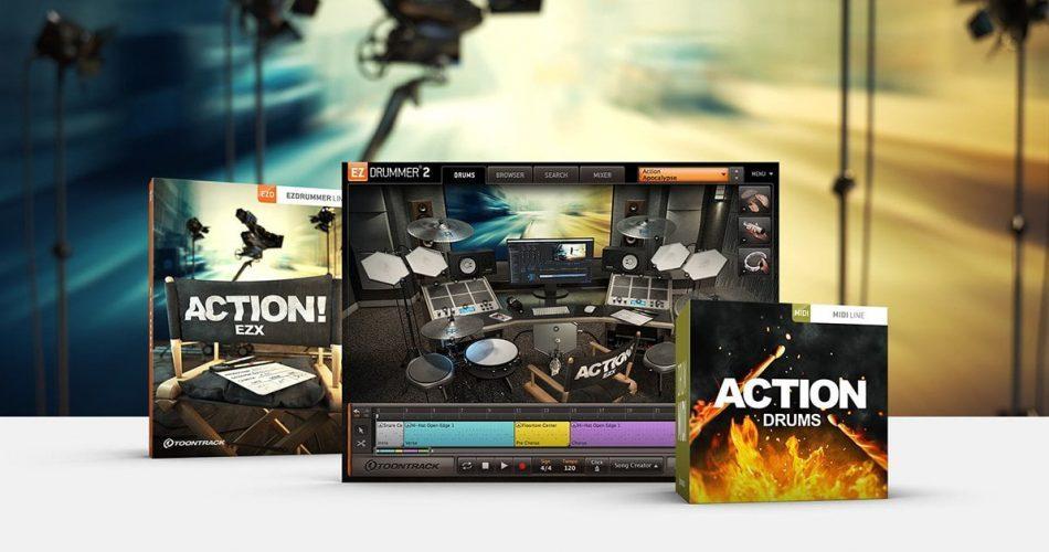 Toontrack Action EZX & MIDI