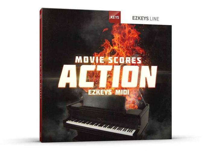 Toontrack Movie Scores Action EZkeys MIDI