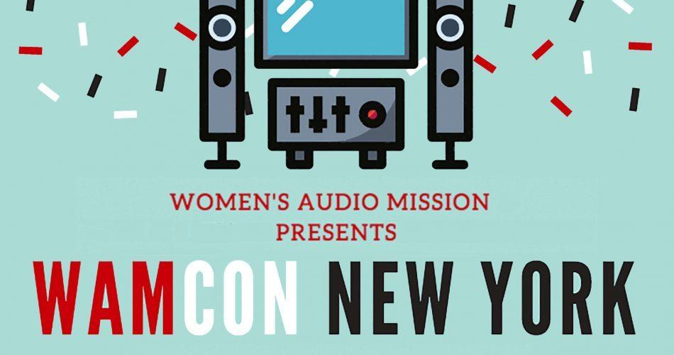 Women's Audio Mission WAMCON New York