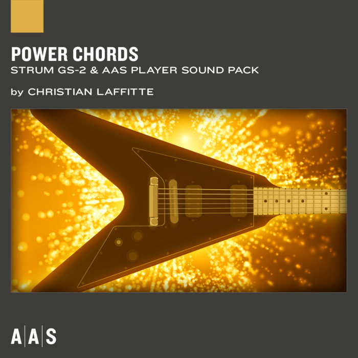 AAS releases Power Chords sound pack for Strum GS-2 + 50% OFF Sale