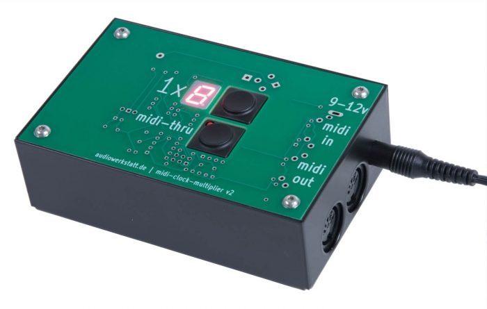 audiowerkstatt midi clock multiplier v2