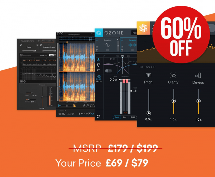 iZotope Elements Suite 60