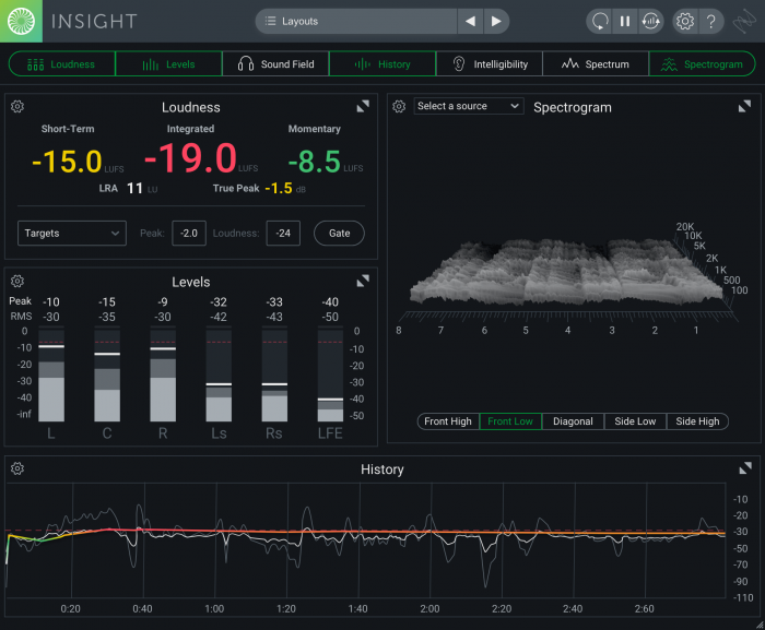 iZotope Insight 2 med 3