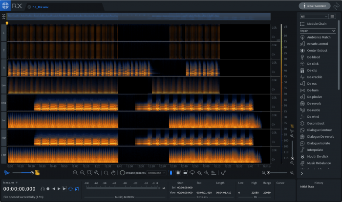 iZotope RX 7 Advanced Multichannel
