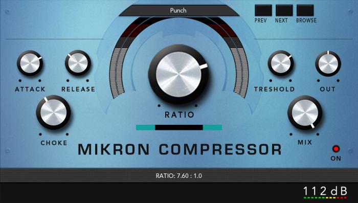 112dB Mikron Compressor