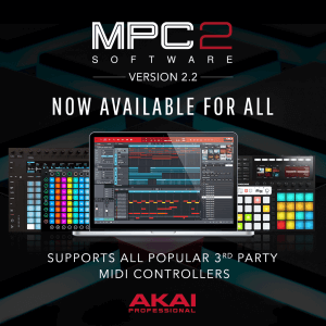 Akai Pro MPC2 bundle sale