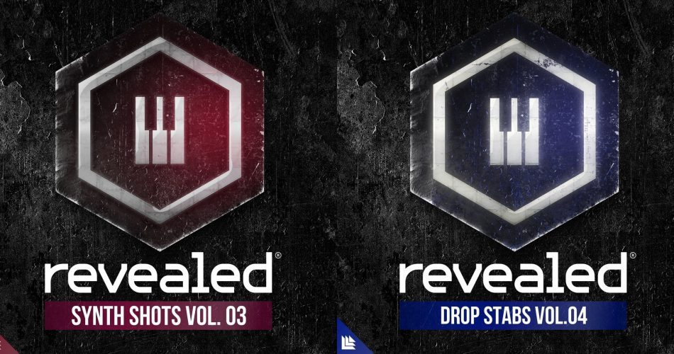 Alonso Sound Revealed Synth Shots Vol 3 & Drop Stabs Vol 4