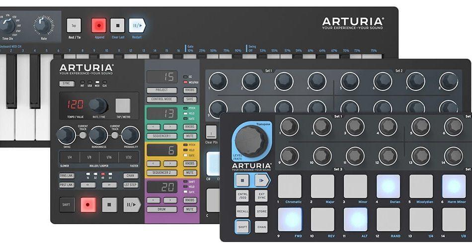 Arturia BeatStep, BeatStep Pro & KeyStep Black Edition