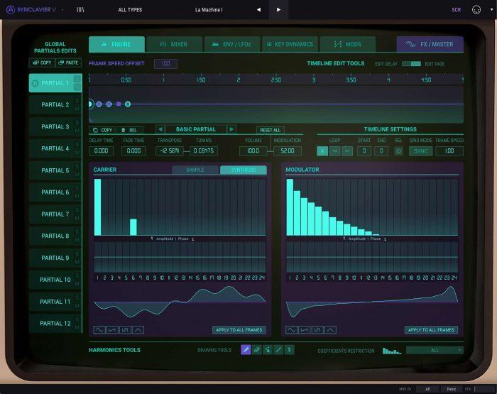 Arturia Synclavier V 2 Engine FM