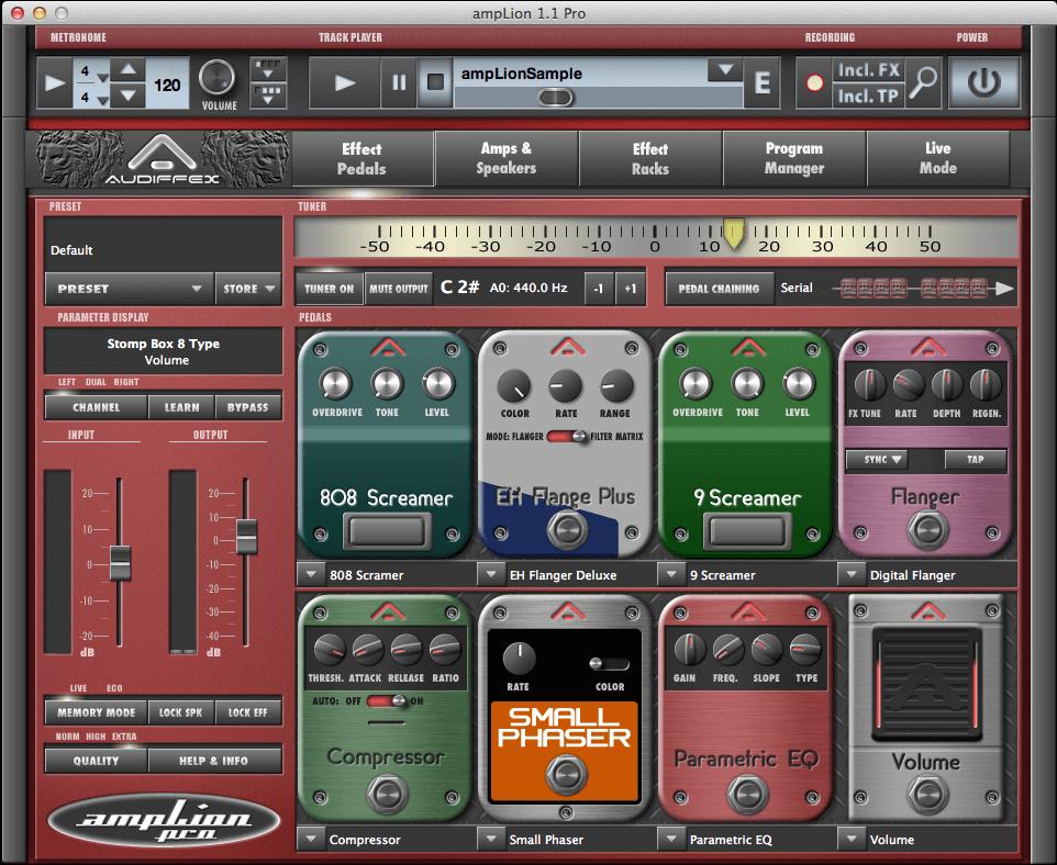 Audified ampLion Pro guitar amp & fx plugin & app 60% OFF Audified